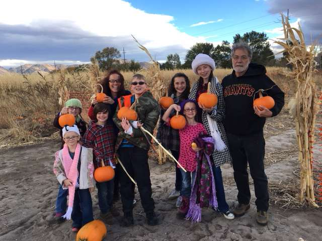 Fall day at the Pumpkin Patch